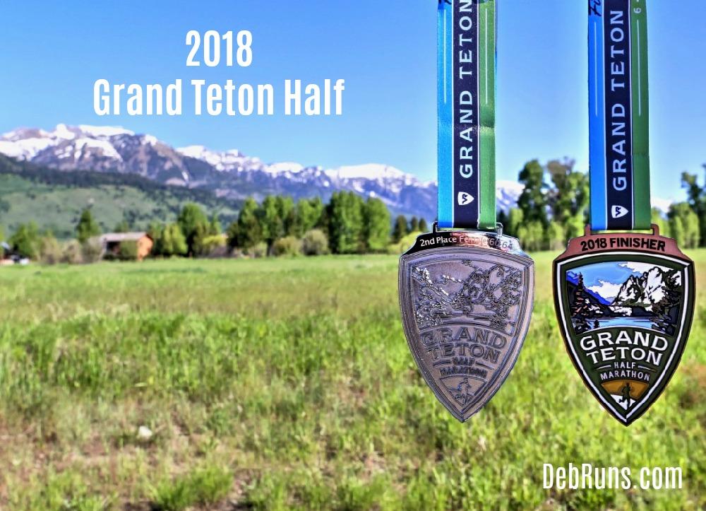 2018 Grand Teton Half Marathon Race Recap