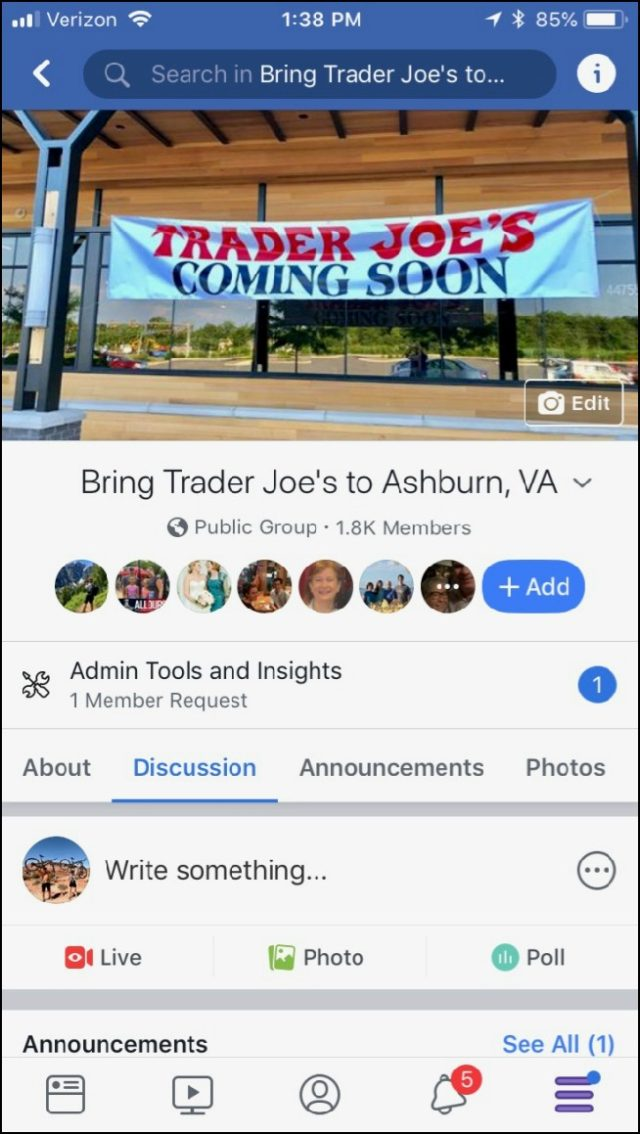 We Did It – The Ashburn Trader Joe's Is Finally A Reality!