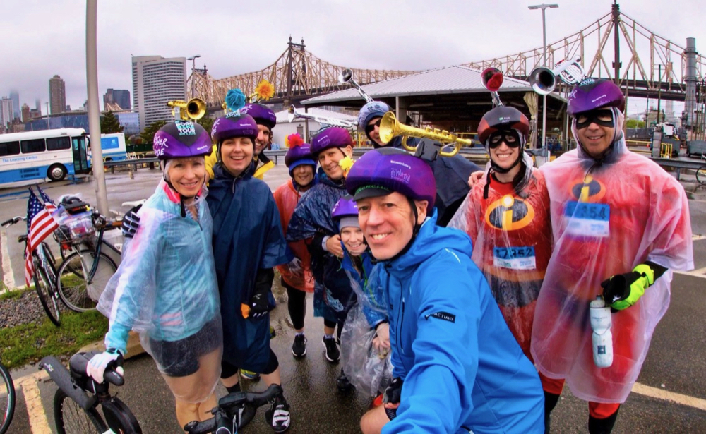 Starting the Week with a Rainy Bike Tour and Ending it Reunited with my Running Girls