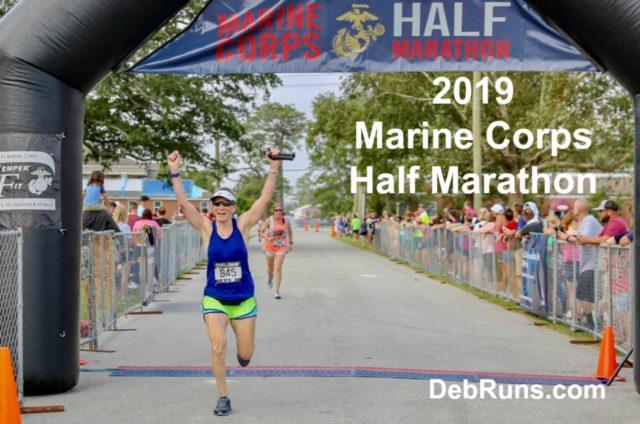 2019 Marine Corps Half Marathon Race Recap