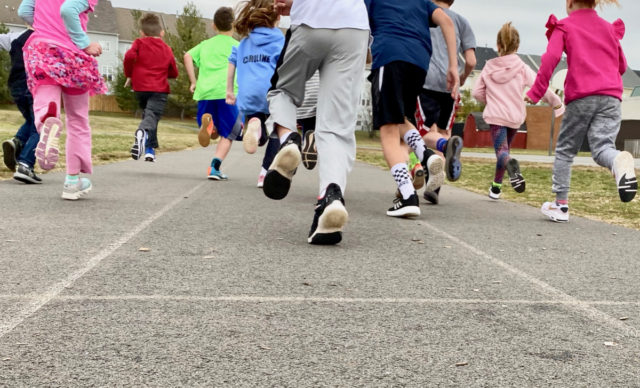 Budding Runners, Getting Back into a Routine, and Social Distancing